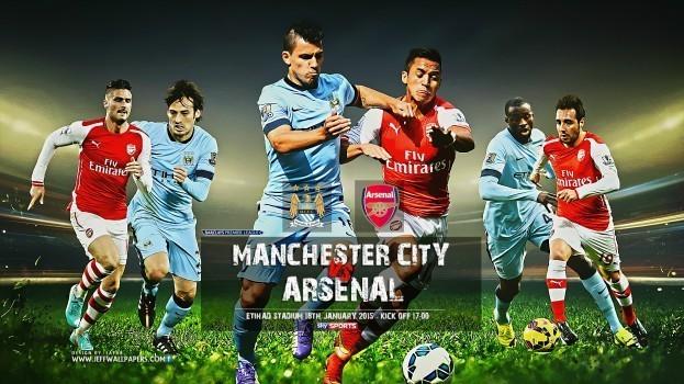 Манчестър Сити - Арсенал: 18.12.2016