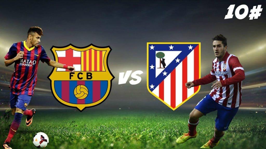 Барселона - Атлетико Мадрид: 07.02.2017