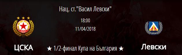 ЦСКА е фаворит срещу Левски за Купата, но излиза без Каранга