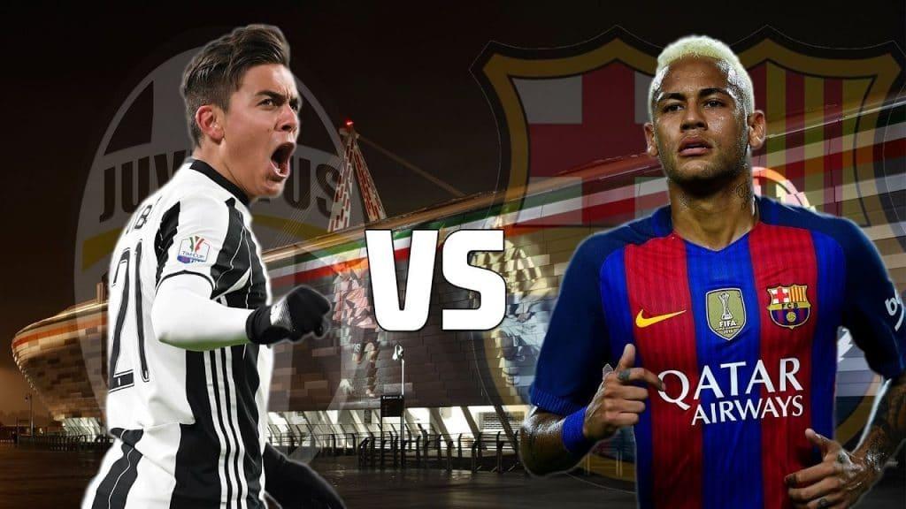 Съревнованието на два колоса – мача Ювентус и Барселона!