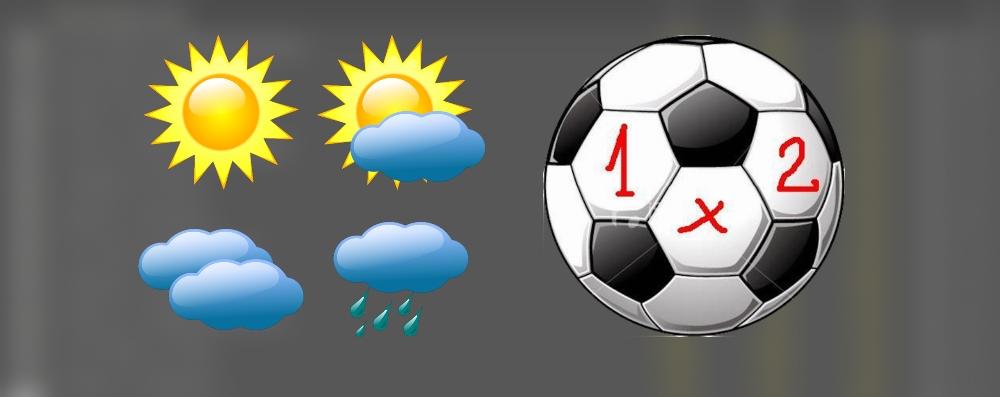 Влиянието на времето върху футболните прогнози за утре