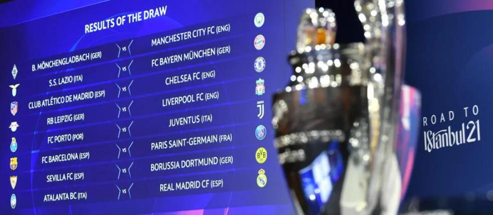 Шампионска Лига - Жребий за 1/8 финалите