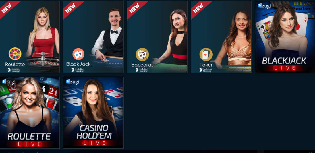 Palms Bet - Live Casino