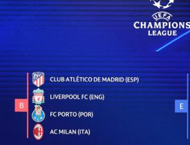 Милан - Групова фаза Шампионска лига